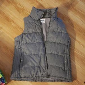 brand new gray old navy vest